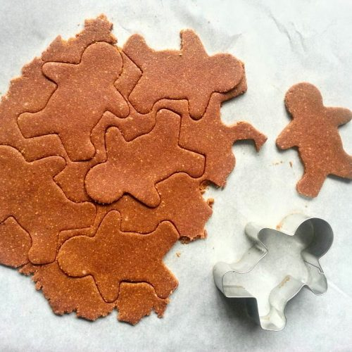 Winter Gingerbread Cookies