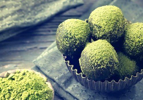 Green Ginger Energy Balls