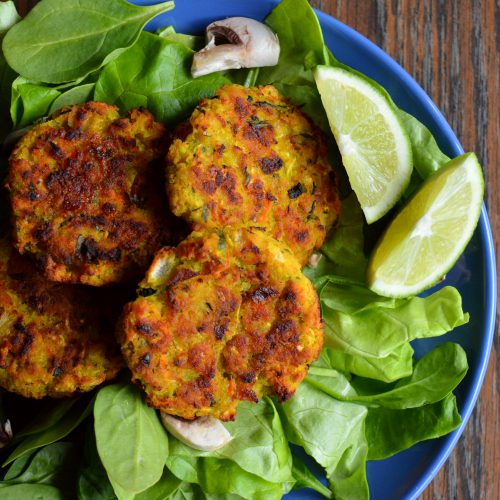 Zucchini Fennel Fritters
