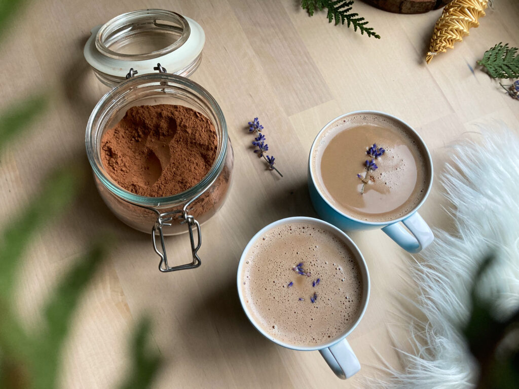 Rosemary + Lavender Hot Cocoa Mix