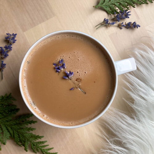 Rosemary + Lavender Hot Cocoa
